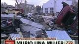 Esplosione in Argentina: forse una fuga di gas