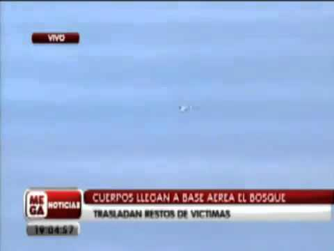 Il caso dell'OVNI che vola attorno ad un aereo in Cile.
