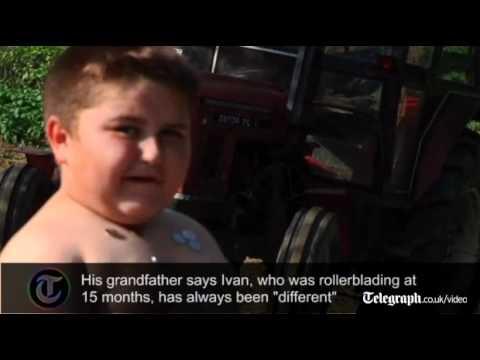 """Ivan, il bambino (obeso) di 6 anni chiamato """"MagneticBoy"""""""