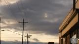 Sfere di luce in CG. Gennaio 2012. Città di Warren.