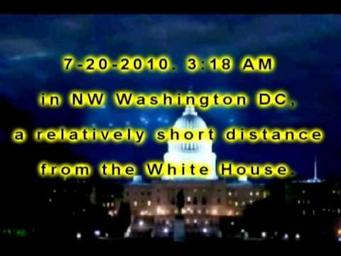 Ufo iperdimensionali sulla Casa Bianca.