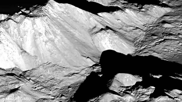 Un'altra prova che debunka i MoonHoaxers: Il cratere Tycho.